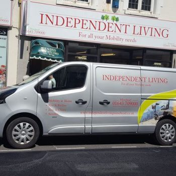 Independent Living Van and store front
