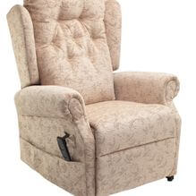 cream rise and recline chair