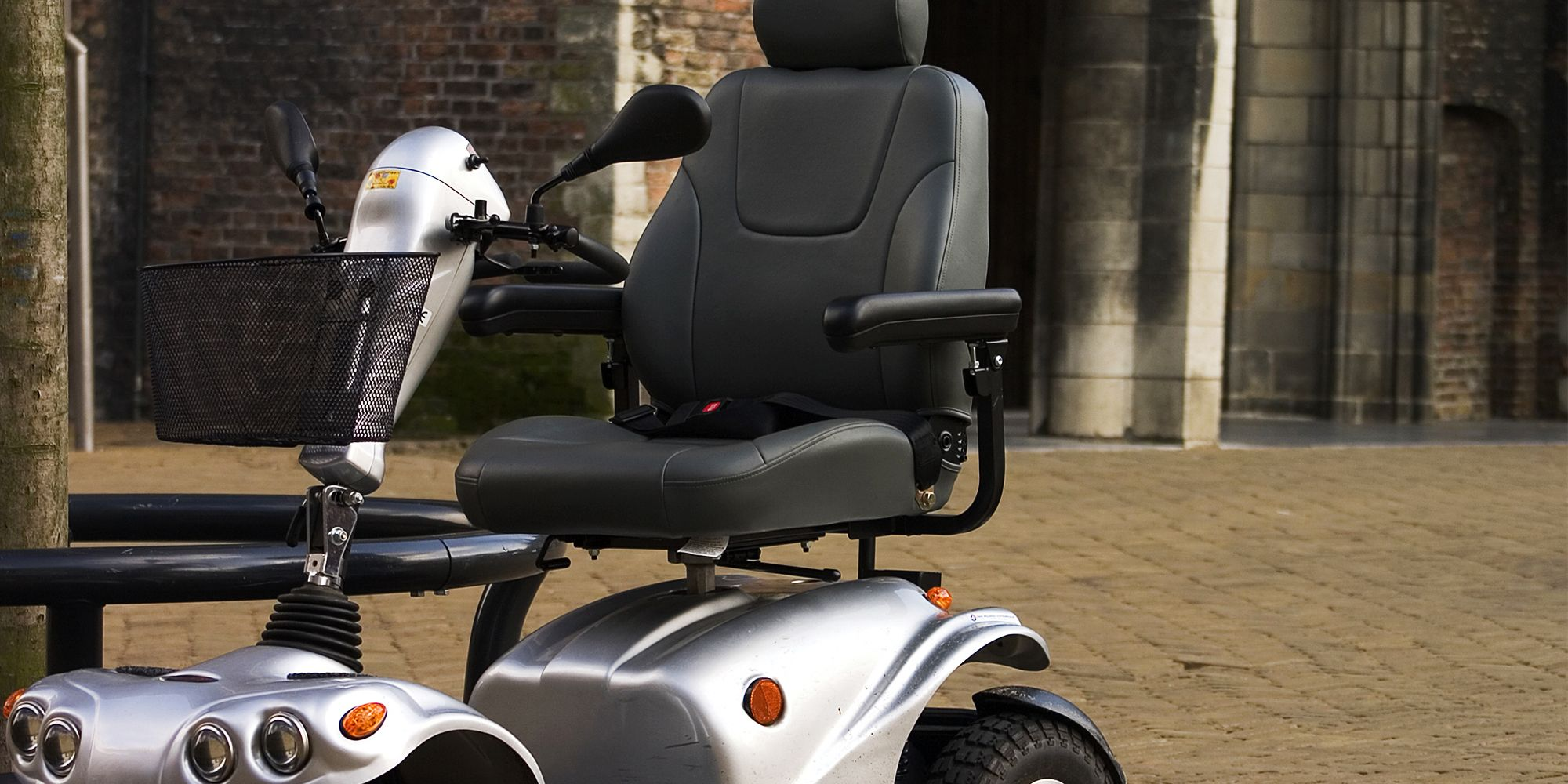 Grey-Mobility-scooter-minehead