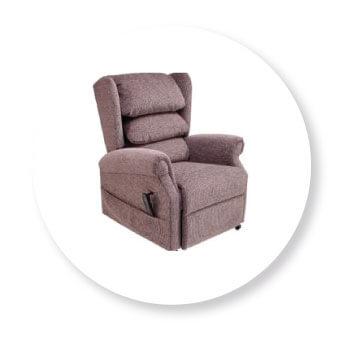 modern rise and recline chair